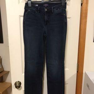 NYDJ dark wash Marilyn jeans